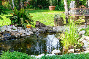 Water feature Raleigh NC